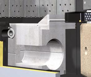 Cámara de combustión de circulación resistente a altas temperaturas