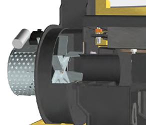 Ventilador de humos con control de velocidad